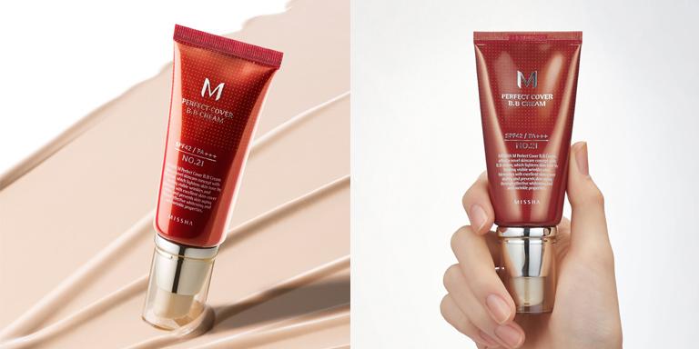 [Missha] M Perfect Covering BB Cream SPF42 PA+++,No.21 Light Beige, 50ml