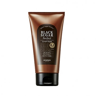 [Skinfood] Black Sugar Perfect Scrub Foam 180g