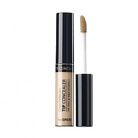 [The saem] Cover Perfection Tip Concealer #1.5 (Natural Beige)