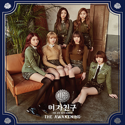 [GFRIEND] Mini Album Vol.4 [THE AWAKENING] Military ver.