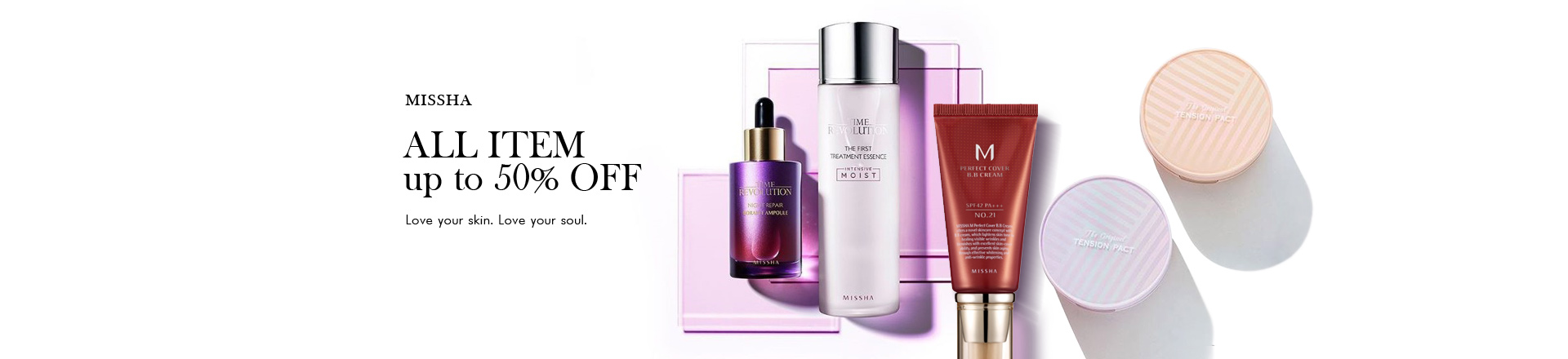Missha up to 50% OFF