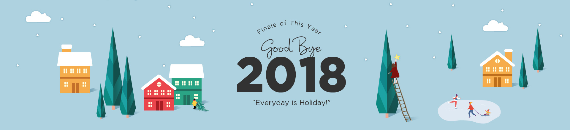 Goodbye 2018 Holiday Deals