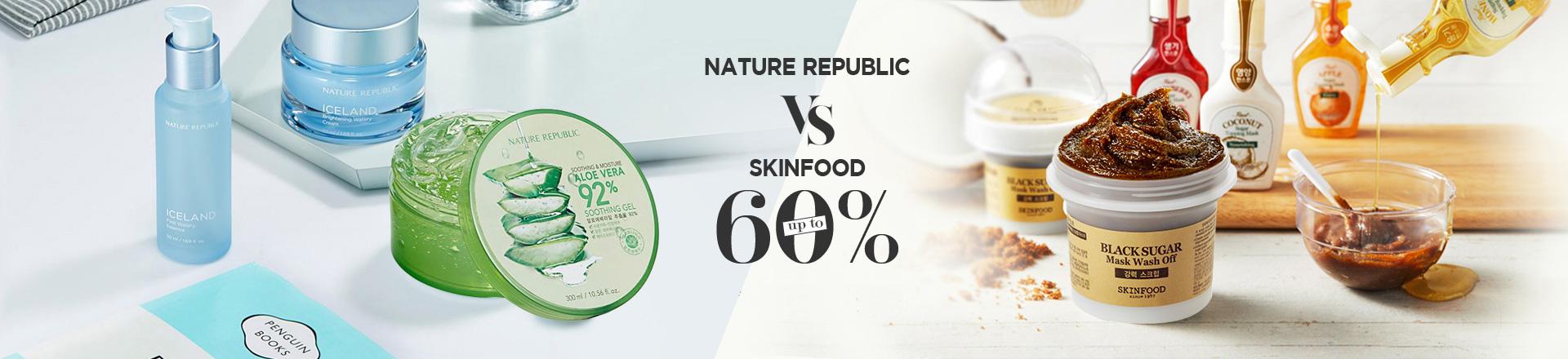 Nature Republic vs Skinfood
