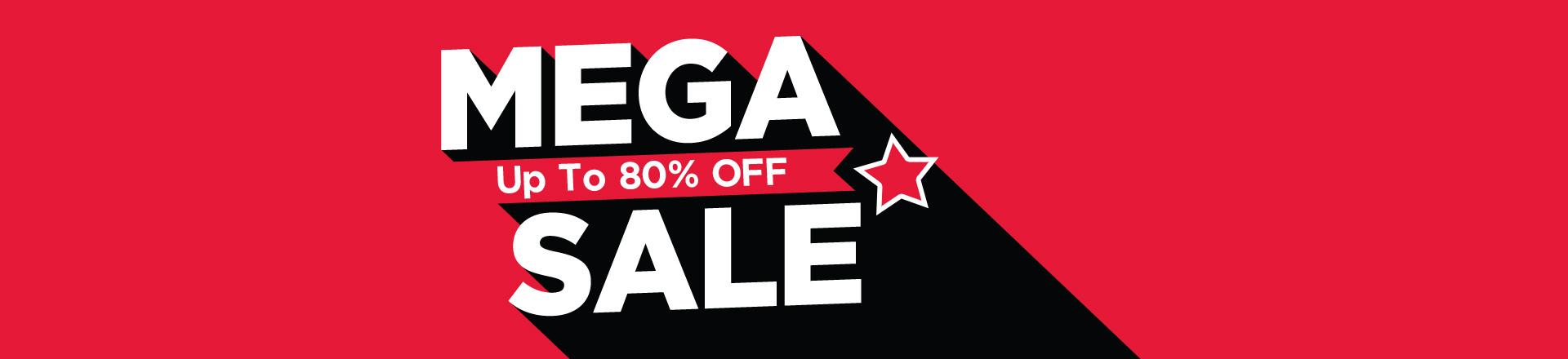 Mega Sale Up To 80% OFF