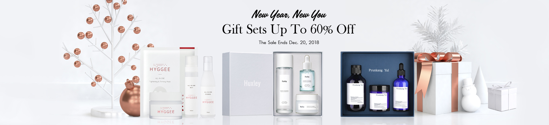 New Year, New You: Holiday Gift Sets Up To 60% OFF