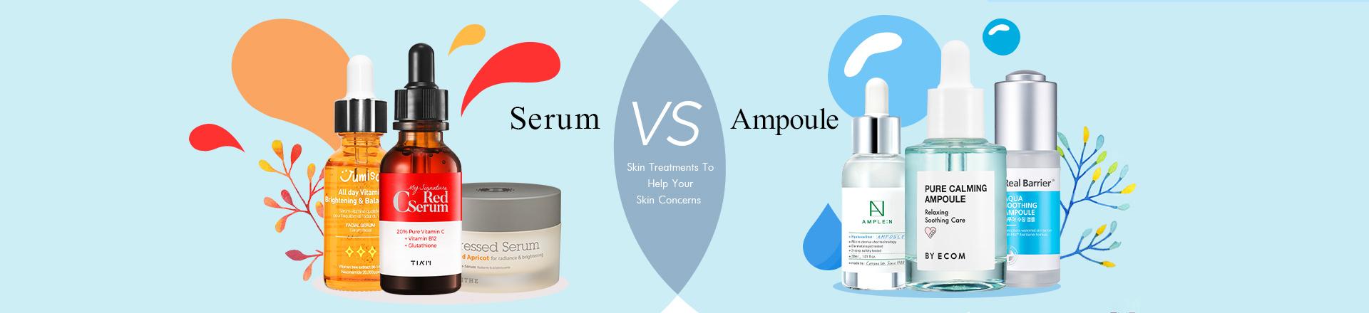 Serum VS Ampoule