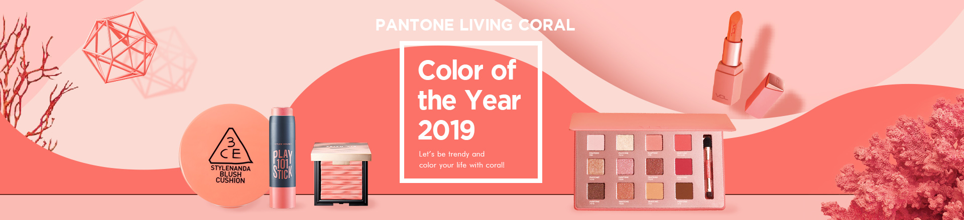 Color Of The Year 2019: Living Coral