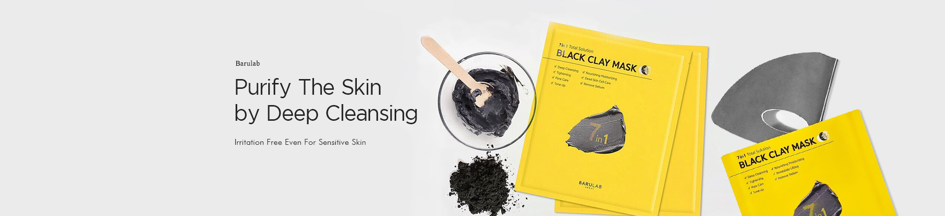 Barulab Black Clay Mask