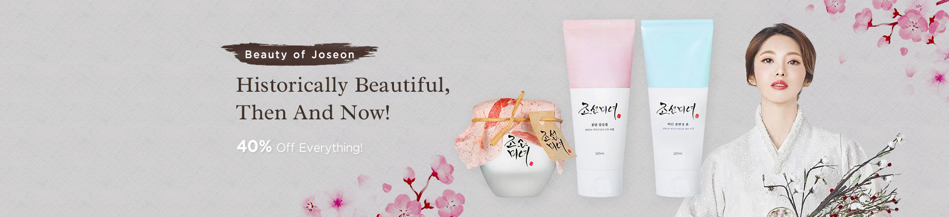 Historically Beautiful, All of Beauty of Joseon 40% OFF!