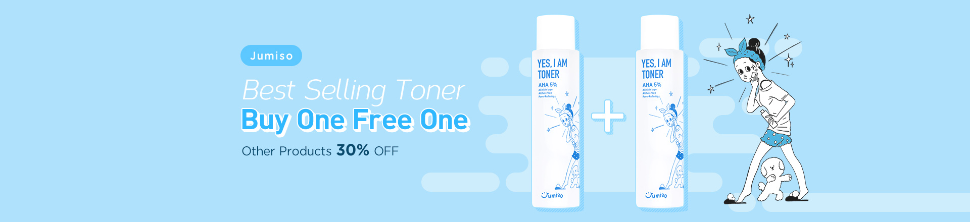 Best Selling Toner! Buy One Get One FREE!