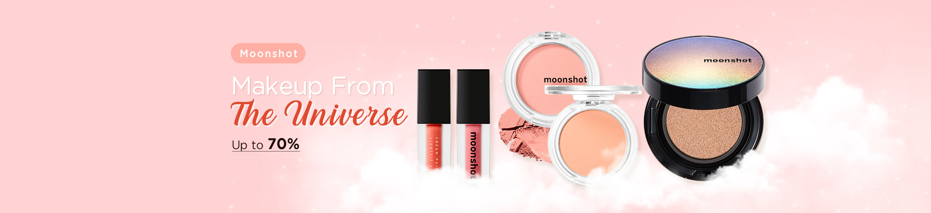 Makeup From The Universe, Moonshot Up to 70% OFF
