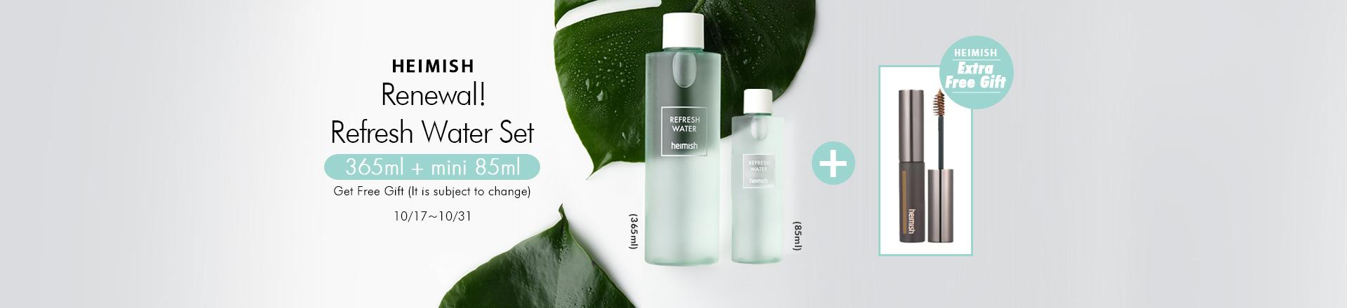 Refresh Water