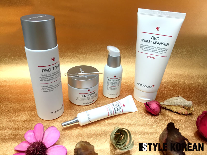 Review Medicube S Red Line Beautystory K Beauty Korean Skin