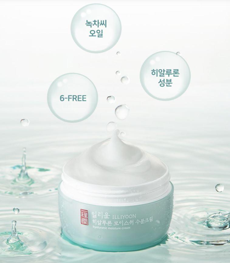 [ILLIYOON] Hyaluronic Moisture Cream 100ml