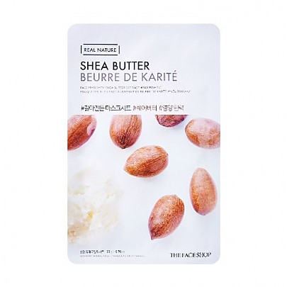 [The face shop] Real Nature Mask (Shea Butter)