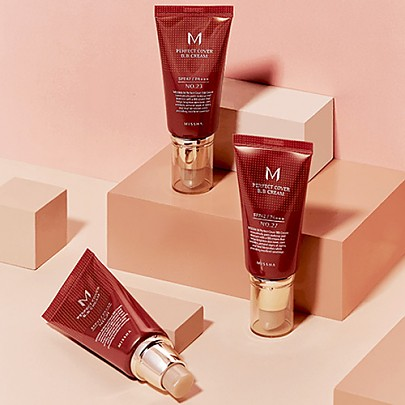 [Missha] M Perfect Covering BB Cream SPF42 PA+++,No.21 Light Beige (Blemish coverage and Power Long Lasting) the best Seller in global  50ml