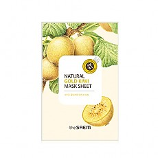 [The saem] Natural Gold Kiwi Mask Sheet