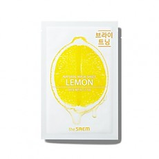[the SAEM] Natural Lemon Mask Sheet