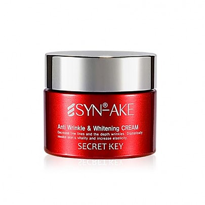 [Secret Key] SYN-AKE Anti Wrinkle & Whitening Cream 50g