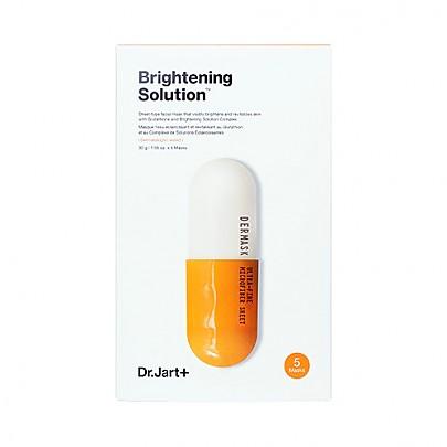 [Dr.jart] Dermask Solution 5 Sheet Masks (25g x 5) (#Brightening)