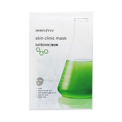 [Innisfree] Skin Clinic Mask Sheet (Catechin) 20ml
