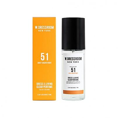 [W.DRESSROOM] Dress & Living Clear Perfume No.51 (Juicy Grapefruit) 70ml