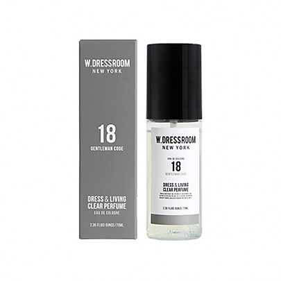 [W.DRESSROOM] Dress & Living Clear Perfume No.18 (Gentleman Code) 70ml