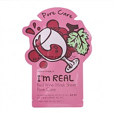 [Tonymoly] I`m REAL Red Wine Mask Sheet Pore Care