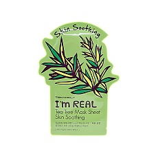 [Tonymoly] I`m REAL Tea Tree Mask Sheet Skin Soothing