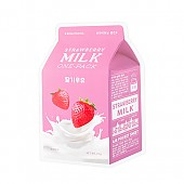 [A'PIEU] Milk One Pack #Strawberry Milk