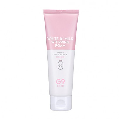 [G9SKIN] White In Milk Whipping Foam 120ml