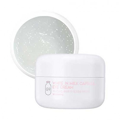 [G9SKIN] White In Milk Capsul Eye Cream