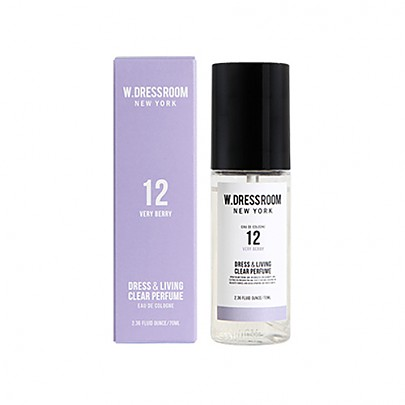[W.DRESSROOM] Dress & Living Clear Perfume No.12 (Very Berry) 70ml