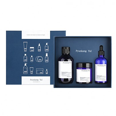 [Pyunkang Yul]*Limited Edition* Moisture Skincare Set (3items: Essence Toner 200ml + Moisture Serum 100ml +Moisture Cream 100ml)