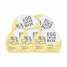 [Too Cool For School] Egg Cream Mask (5ea) (Hydration)