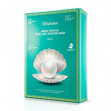 [JM Solution] Marine Luminous Pearl Deep moisture Mask Pearl 10p