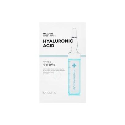 [Missha] MASCURE Hyaluronic Acid Sheet Mask 1pc