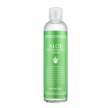 [Secret Key] Aloe Soothing Moist Toner 248ml
