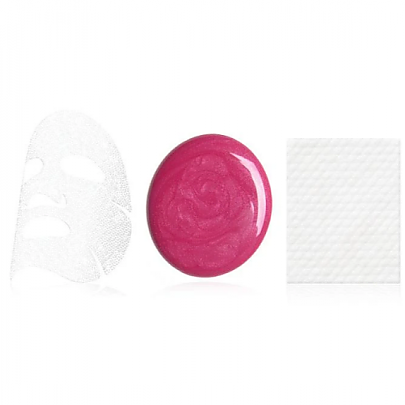 [double dare] OMG! Platinum Hot Pink Facial Mask Kit