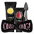 [Double Dare] OMG! Pulling&Peeling Kit (Pulling Gel + Peeling Gel + Hair brand + Brush)