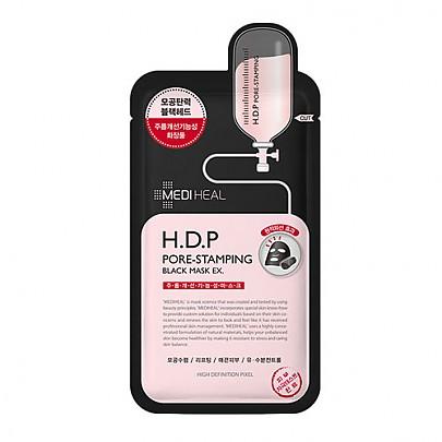 [Mediheal] H.D.P Pore Stamping Charcoal Mineral Mask 1ea