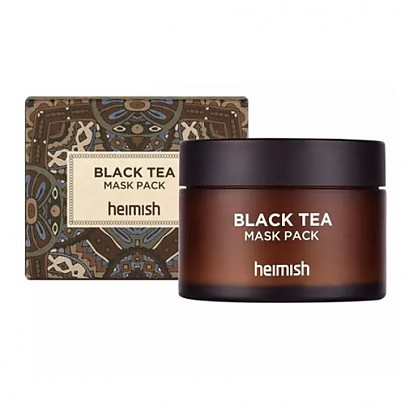 [heimish] Black Tea Mask Pack