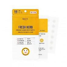 [Nacific] Fresh Herb Origin Clear Spot Patch 18pcs (10mm*9/12mm*9)