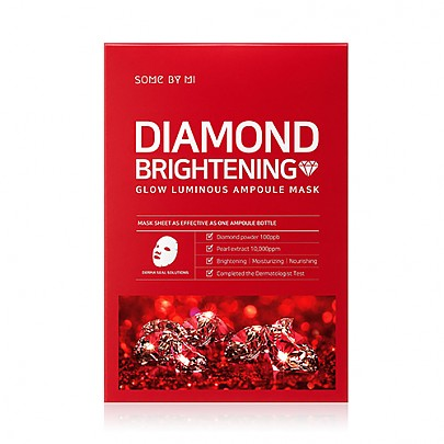 [SOME BY MI] Diamond Brightening Calming Glow Luminous Ampoule Mask 10ea