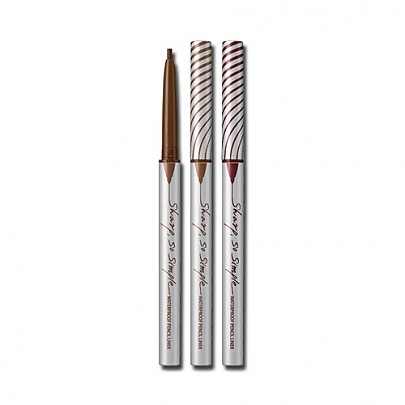 [CLIO] Sharp, So Simple Waterproof Pencil Liner (4 Colors)