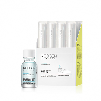 [Neogen] NEOGEN DERMALOGY A-CLEAR SOOTHING SPOT KIT 15ml, 0.8*10ea