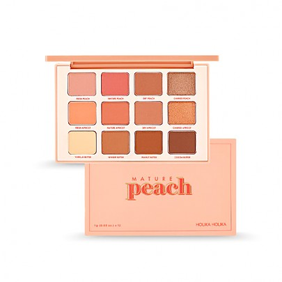 [Holika Holika] Piece Matching Eye Shadow Palette #01 Mature Peach