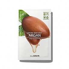 [the SAEM] Natural Argan Mask Sheet