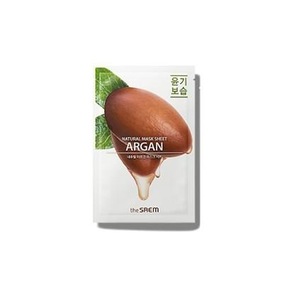 [the SAEM] Natural Argan Mask Sheet