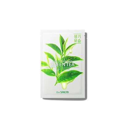 [the SAEM] Natural Green Tea Mask Sheet